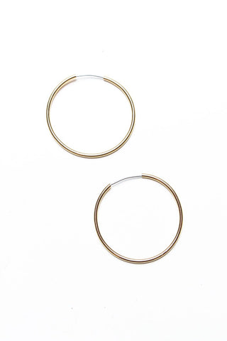 Keep It Simple Endless Hoops - Gold