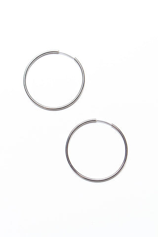 Keep It Simple Endless Hoops - Silver