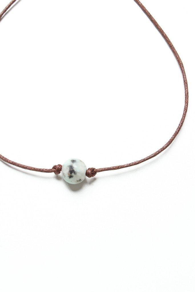 Second Nature Stone Choker