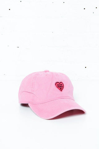 Good Vibes Cap - Pink