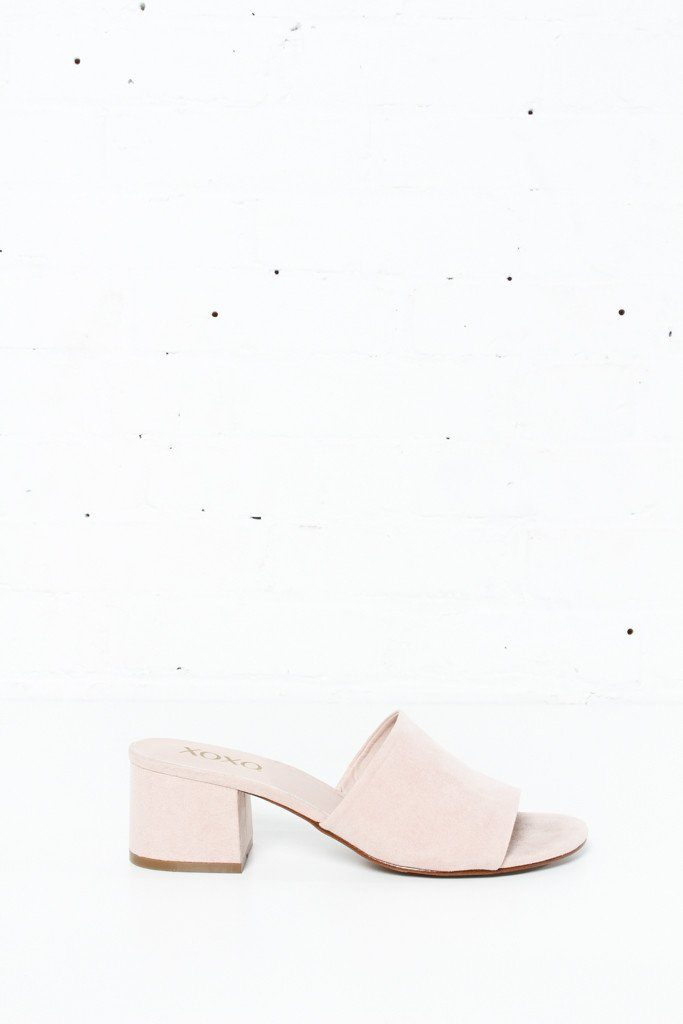 Henrietta Slides - Blush
