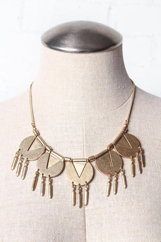 Make Me Geometric Statement Necklace