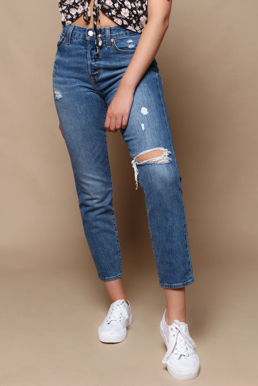 32fb43bea72 Levi s Wedgie Icon Fit Jeans - Higher Love – Calico