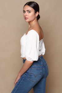 Off The Shoulder Corset Top