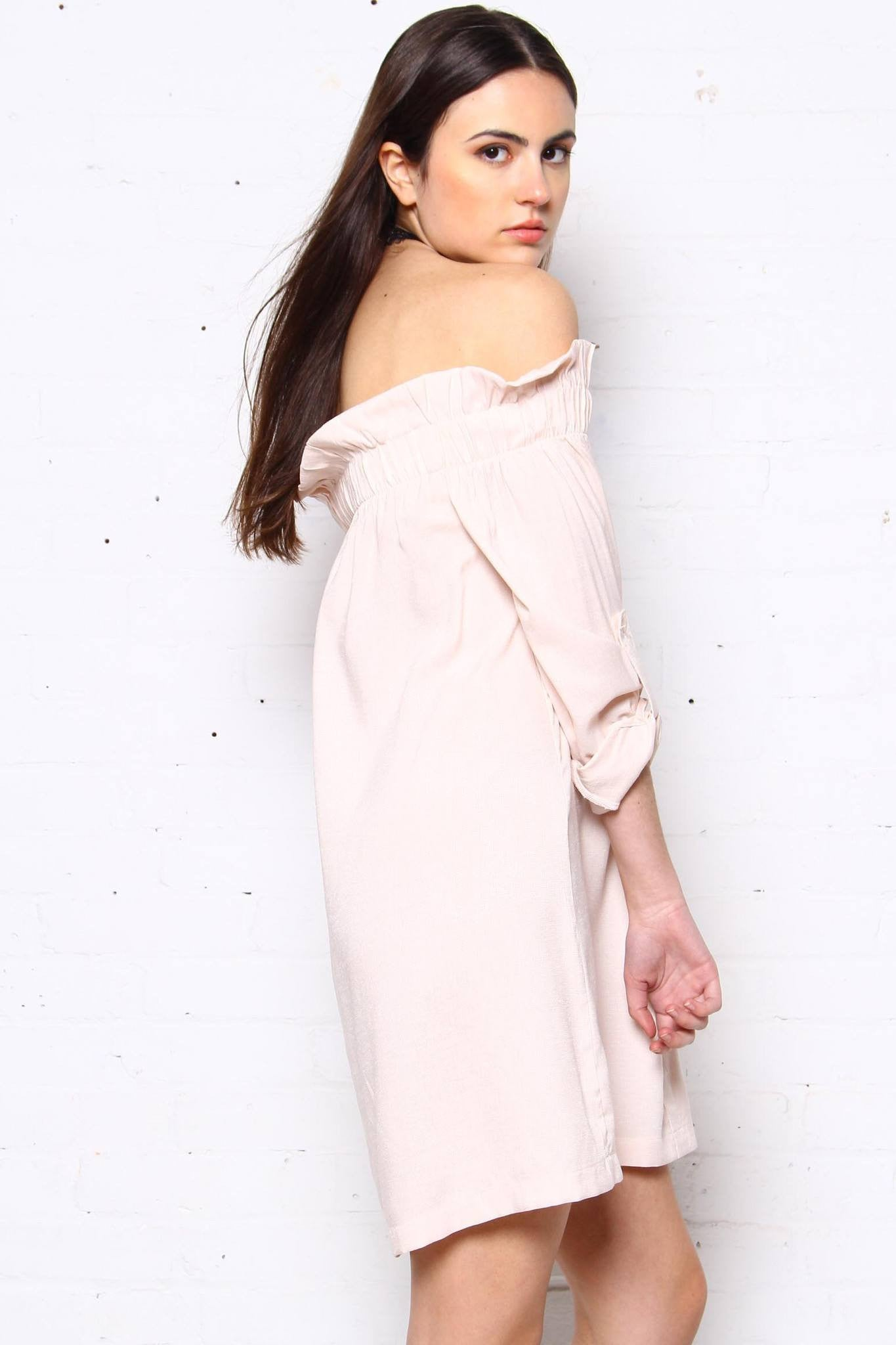 MINKPINK Business Class Off The Shoulder Dress
