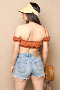 MINKPINK Biscotti Off The Shoulder Bandeau