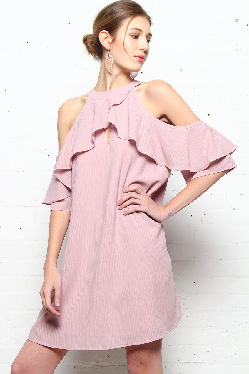 Nora Cold Shoulder Dress
