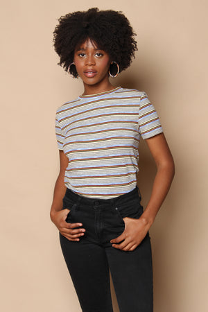 Baby Chill Ribbed Striped Tee
