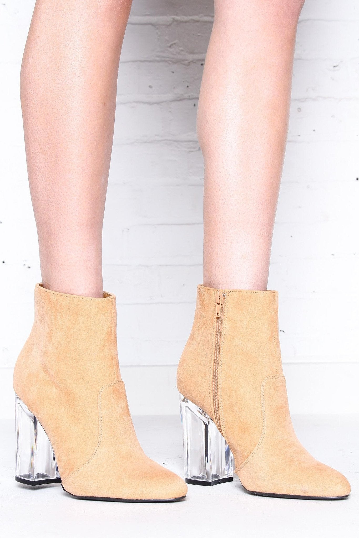 See It Through Ankle Boot
