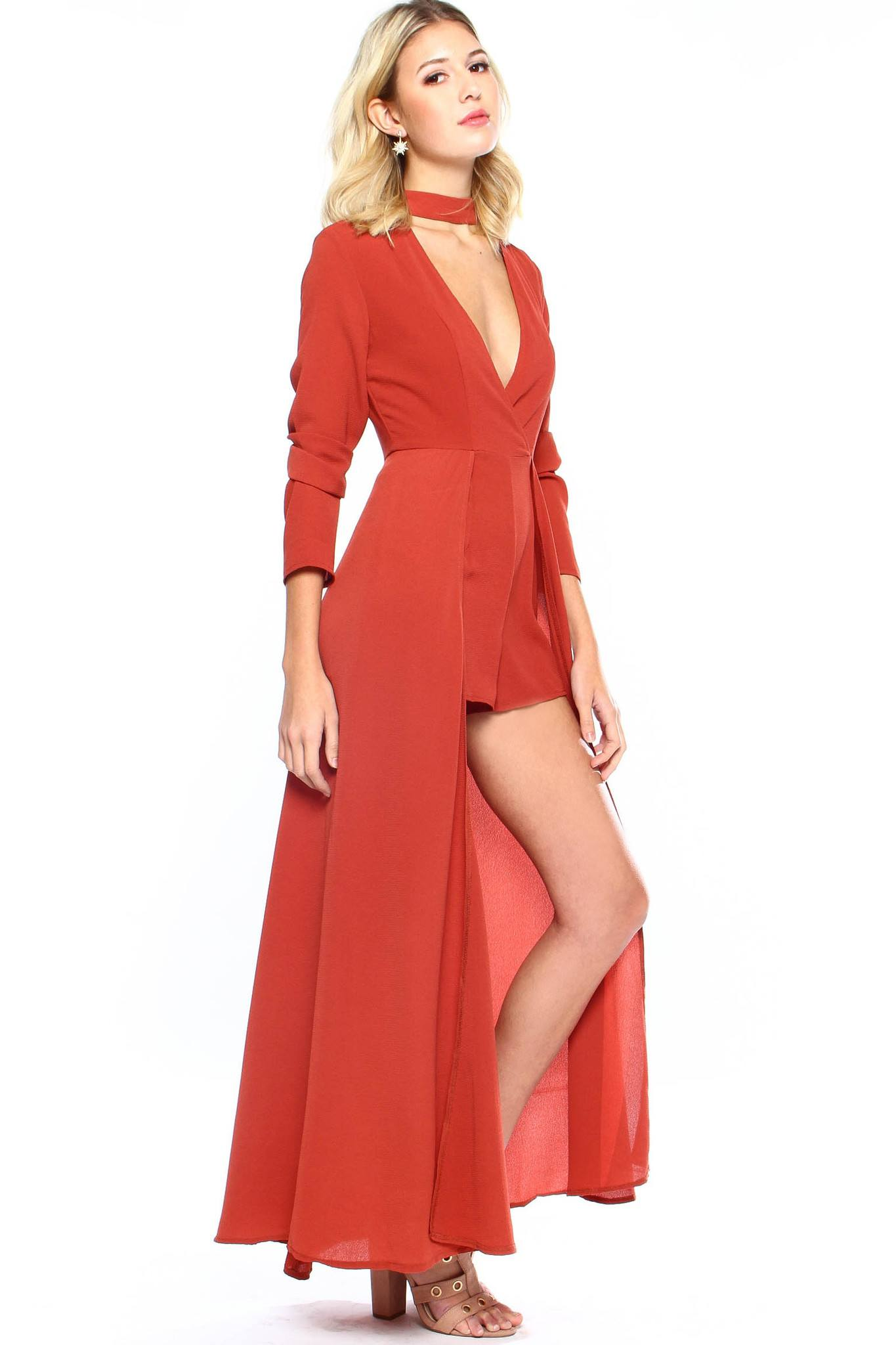 In Too Deep Robe Romper