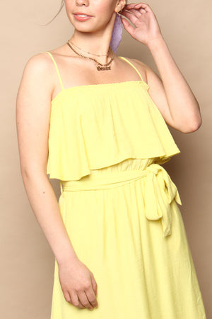 Limoncello Strappy Sundress
