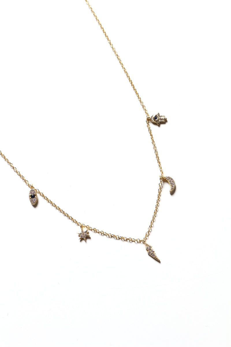 Totally Charmed Dainty Necklace