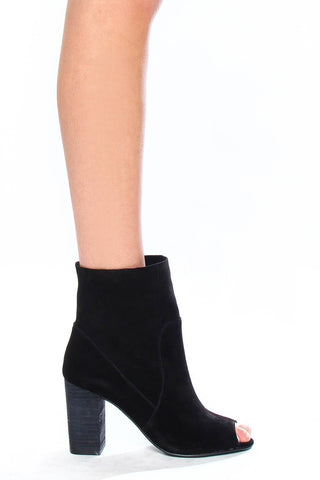 Chinese Laundry Tom Girl Peep Toe Bootie