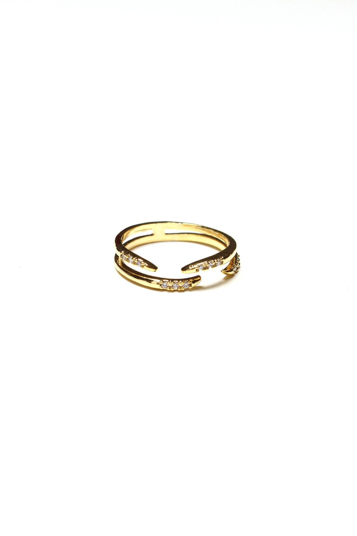 Claws Up Ring - Gold