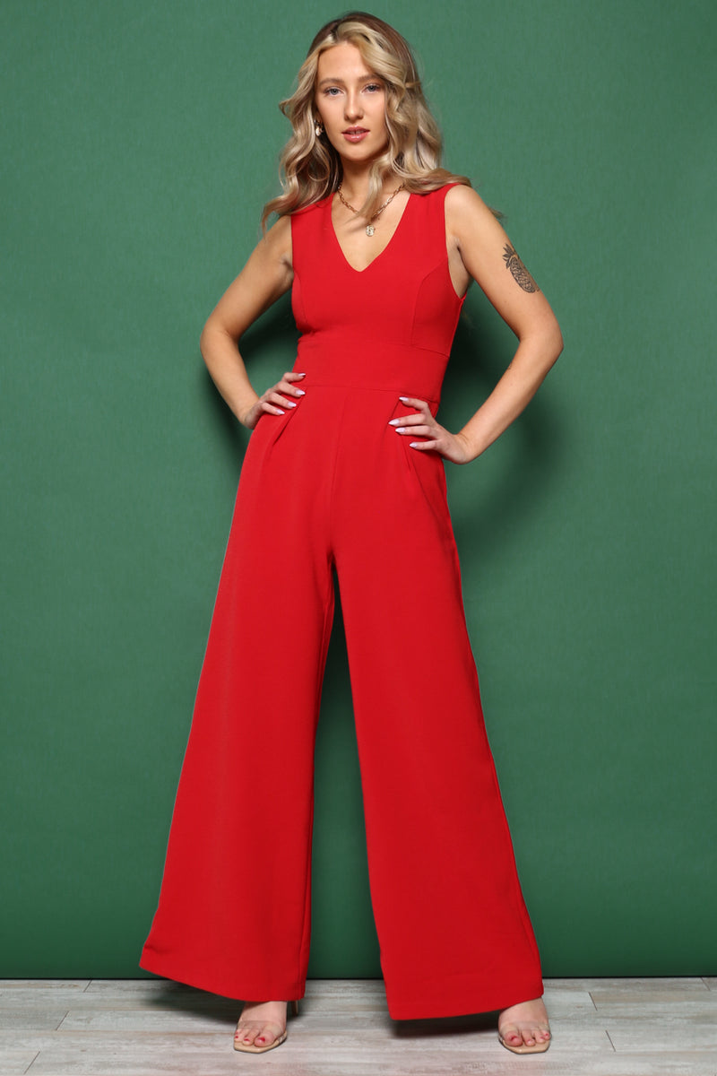 Flare Game Jumpsuit