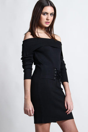 MINKPINK Hold Tight Corset Dress
