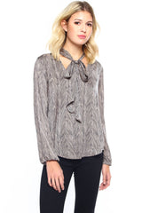 BB Dakota Dendall Ascot Blouse