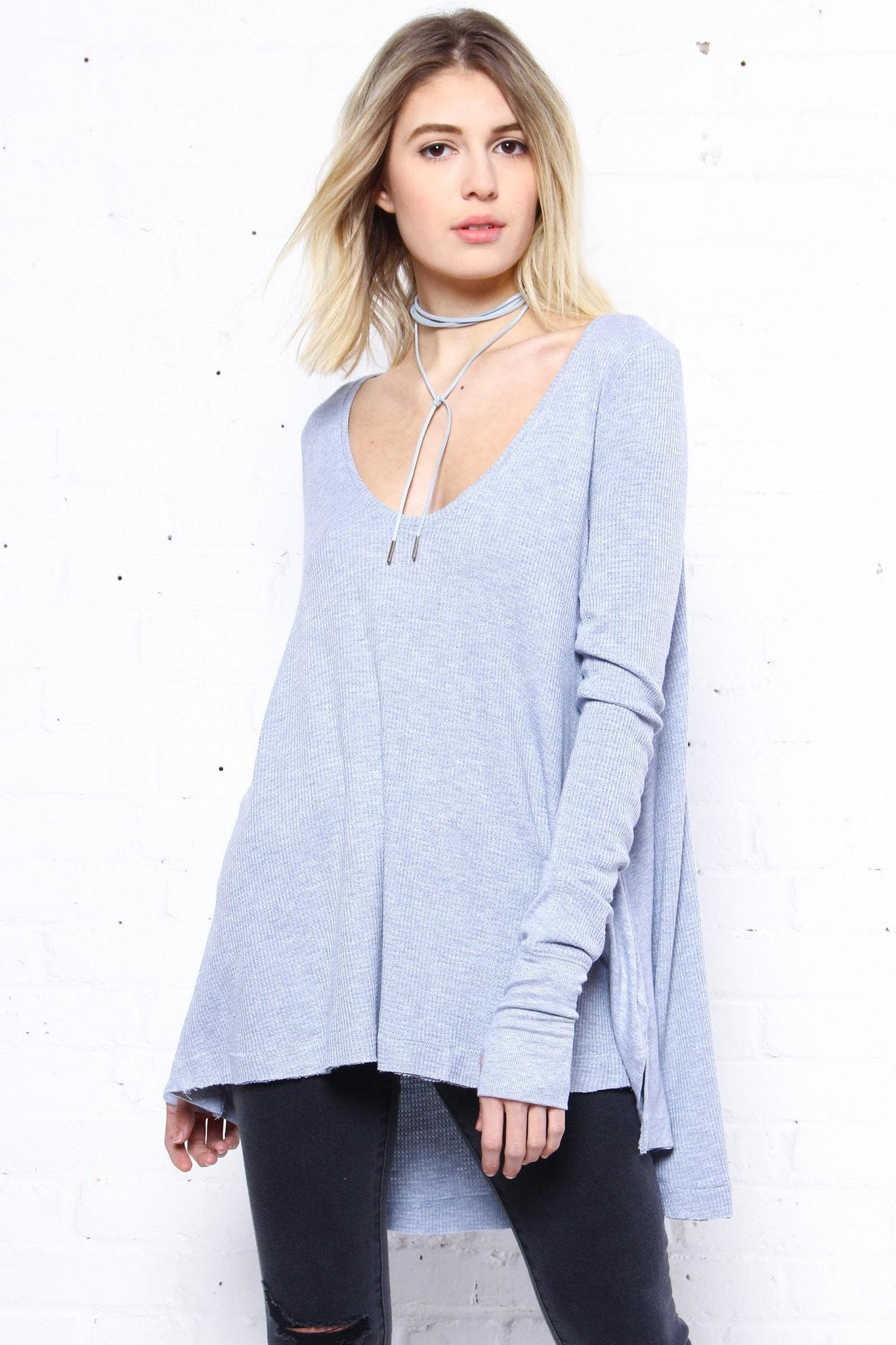 Free People Malibu Thermal - Silver