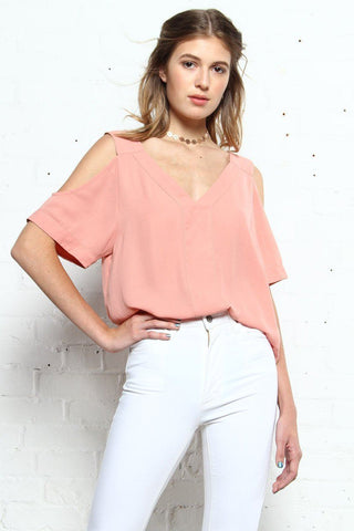 BB Dakota Miller Off The Shoulder Top