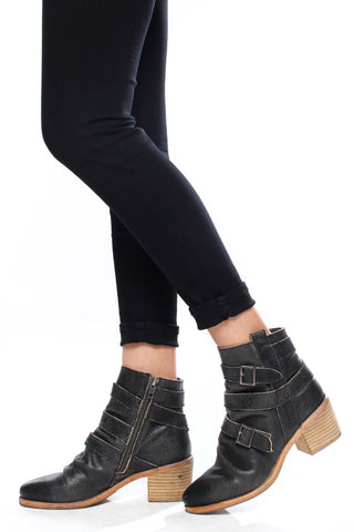 Kelsi Dagger Grand Distressed Bootie