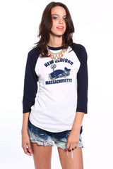 New Bedford Whale Ringer Tee