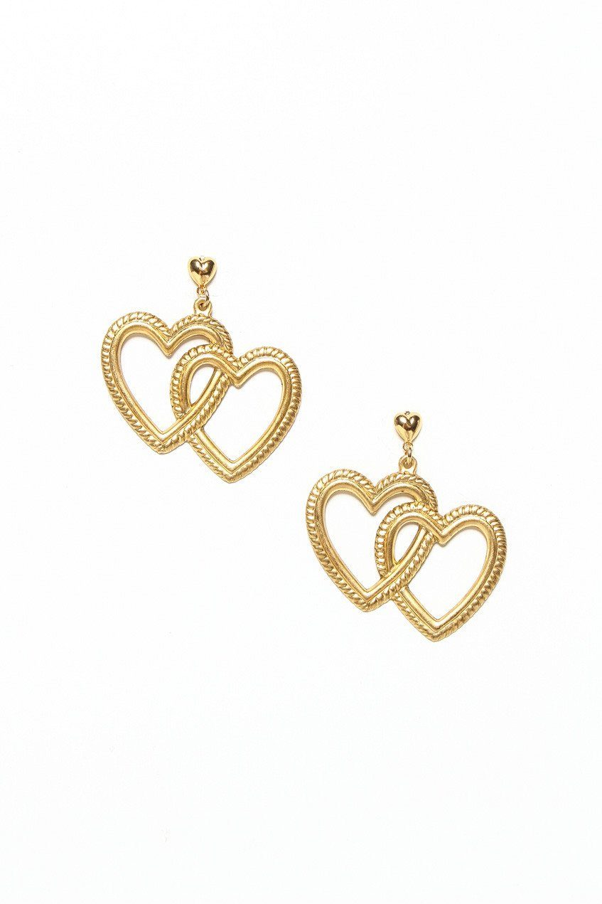 Frasier Sterling Fake Love Earrings
