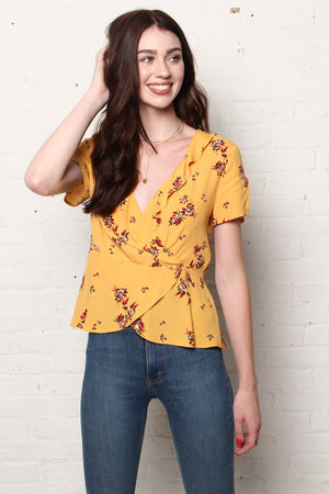Gentle Fawn Alessia Wrap Top
