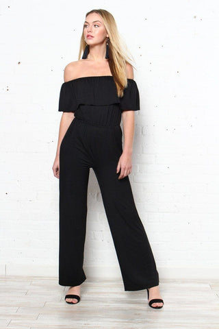 BB Dakota Niko Ruffle Jumpsuit