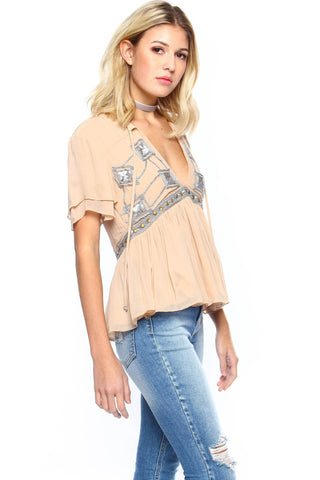 Somedays Lovin' Chloe Sequin Blouse
