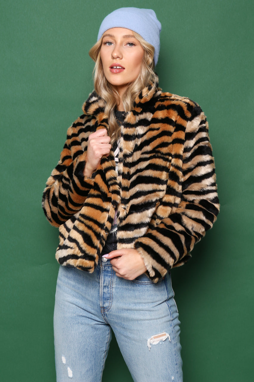 Gone Wild Fur Jacket