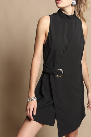 MINKPINK Eyelet Wrap Dress