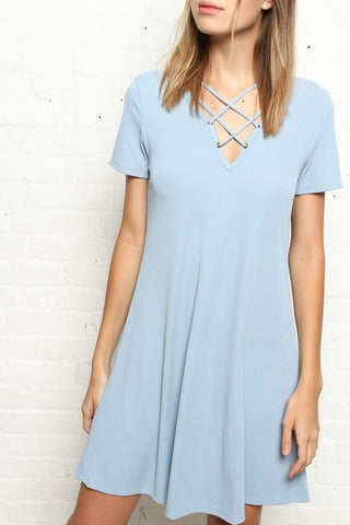 Level Off Ribbed Dress