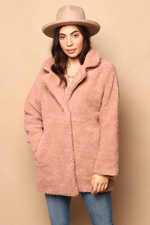 Sage the Label Revival Fuzzy Coat
