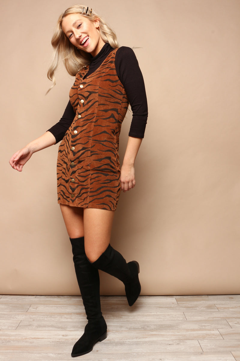 MINKPINK Wild Woman Mini Dress