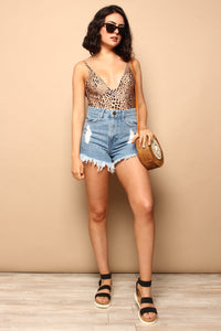 Show Me Your Mumu Houston High Waist Shorts