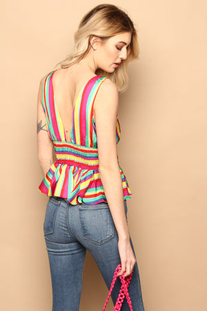 BB Dakota Over The Rainbow Blouse