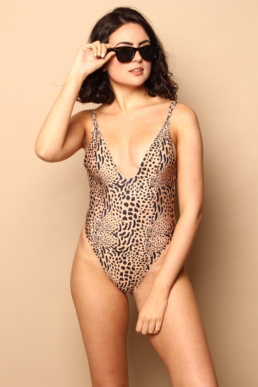 MINKPINK Sahara V Neck One Piece