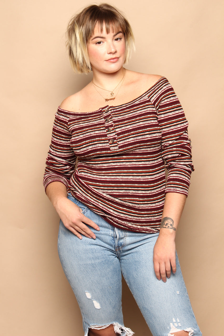 Project Social T Something About You Off The Shoulder Top