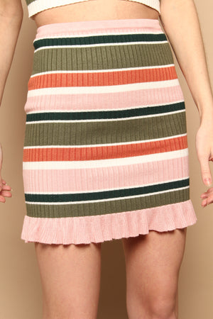MINKPINK Open Air Mini Skirt