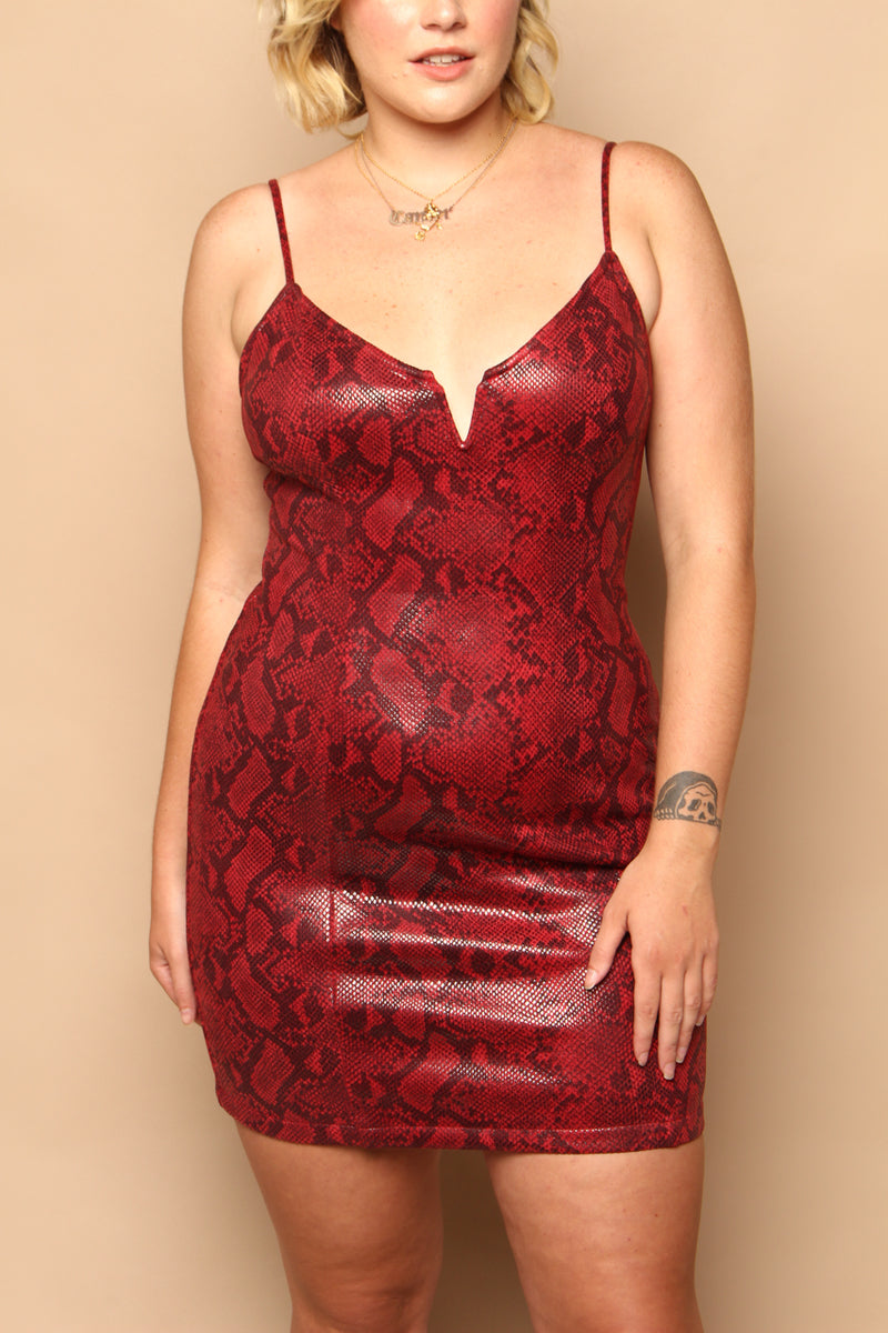 Astr The Label Come Slither Dress