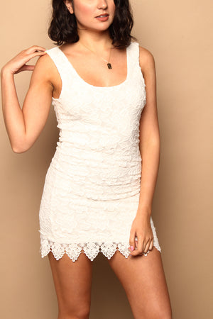 BB Dakota Grow With It Lace Dress