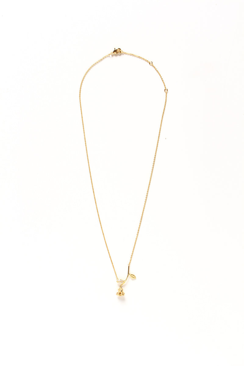 Last Rose Dainty Necklace