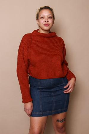 Knit With It Ribbed Pullover