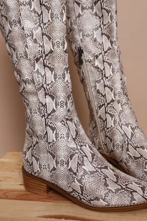 Skin Deep Knee High Boots