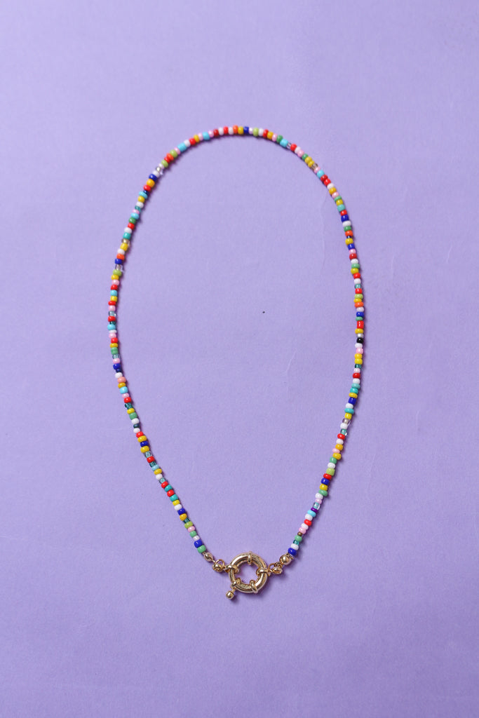 In The Mix Beaded Necklace