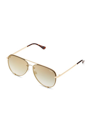 Quay High Key Rimless Sunnies