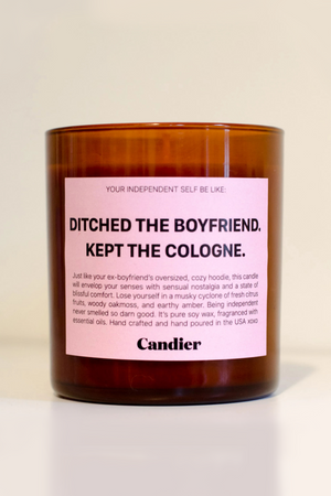 Ryan Porter Ditched The Boyfriend Candle