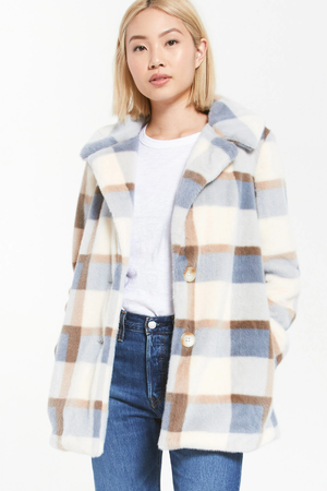 Z Supply Carmen Plaid Coat