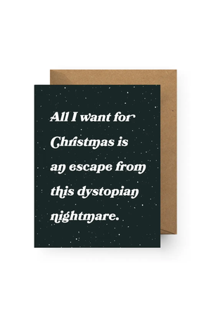 Boss Dotty Dystopian Nightmare Holiday Card
