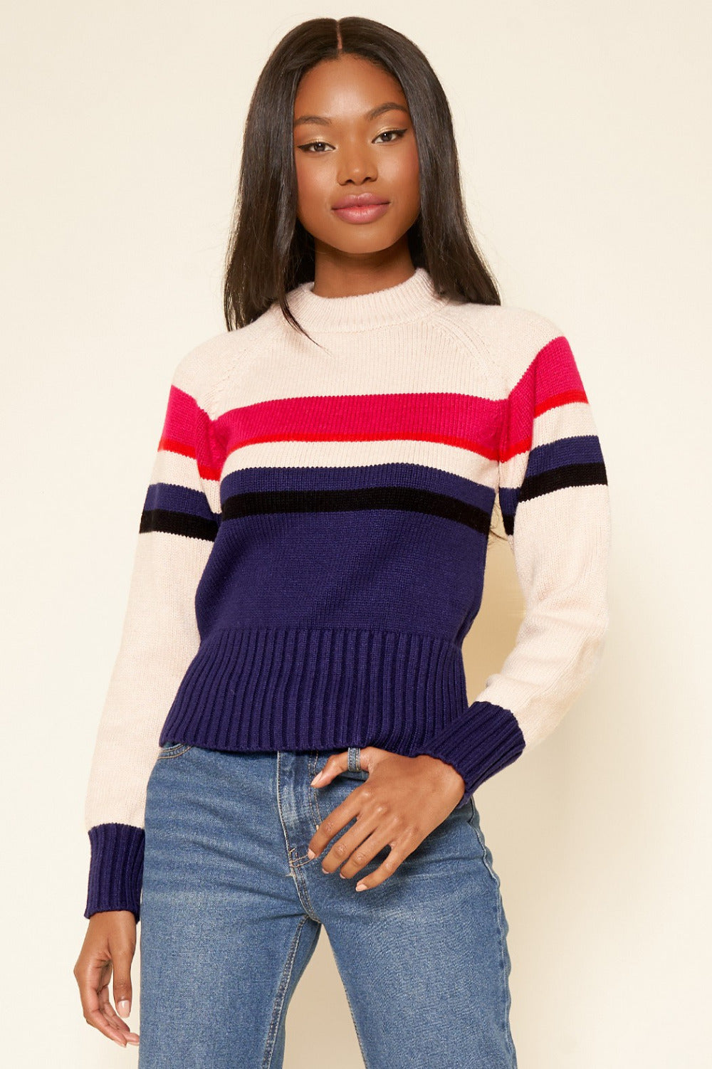 Haven Striped Sweater